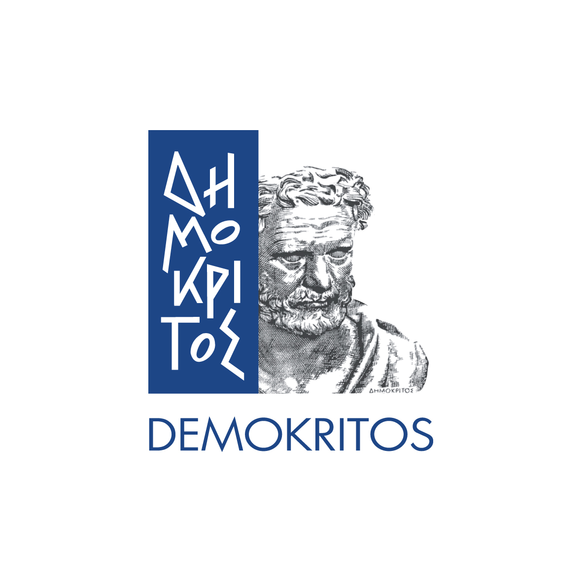 logo demokritos diafano blue